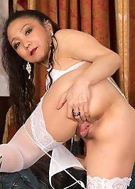 Азиатские волосатые письки фото